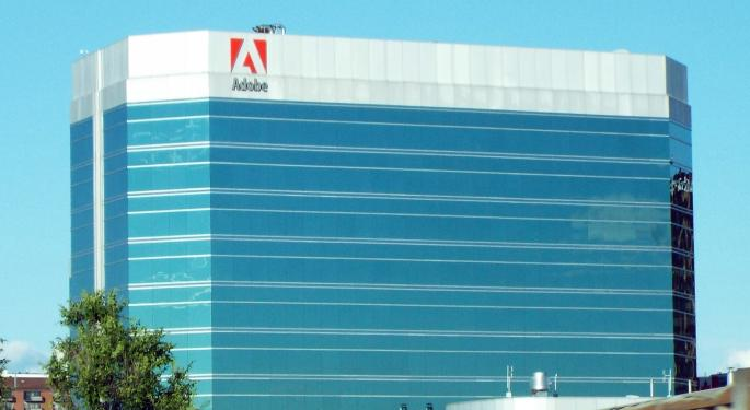 Citi Sees Adobe Numbers Continuing Higher