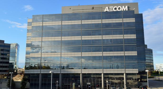 Aecom Sells Management Services Business For $2.4B