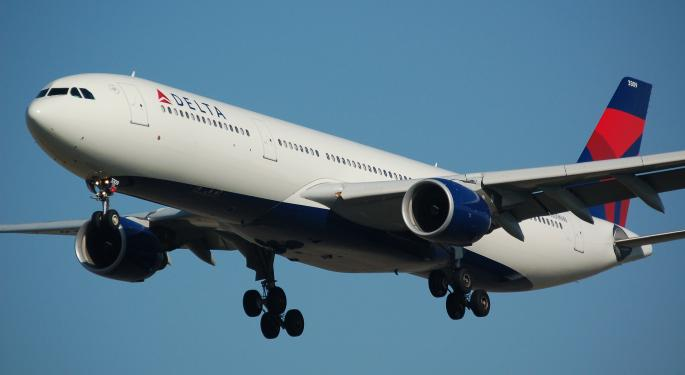 Delta's August Load Factor Falls 2.9 Percentage Points