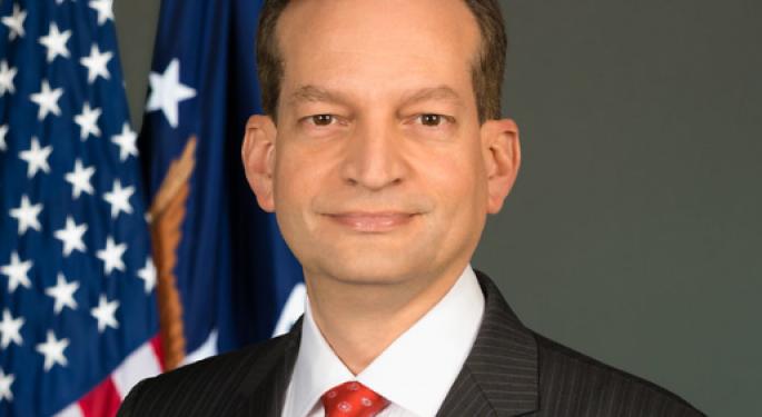 Labor Secretary Alex Acosta Will Resign
