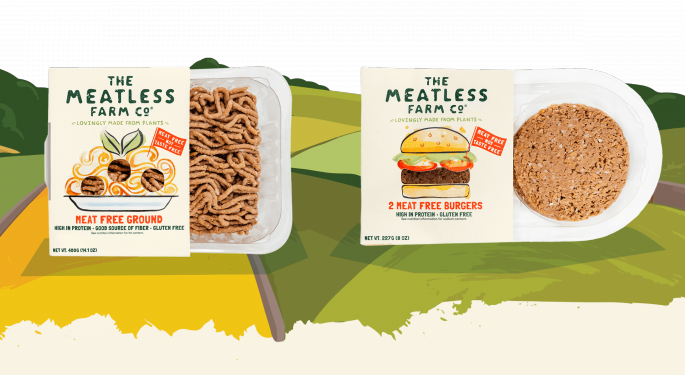 Whole Foods To Stock British Beyond Meat Competitor Meatless Farm: 'We Are One Of The Healthiest Products Out There'