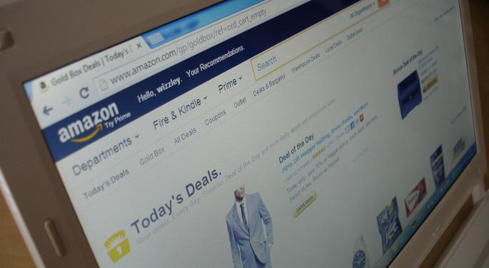 Large Option Traders Betting On Amazon Over Walmart This Earnings Season