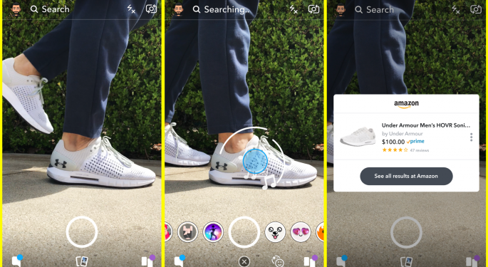 Shop On Sight: Snap Confirms Visual Product Search Collaboration With Amazon