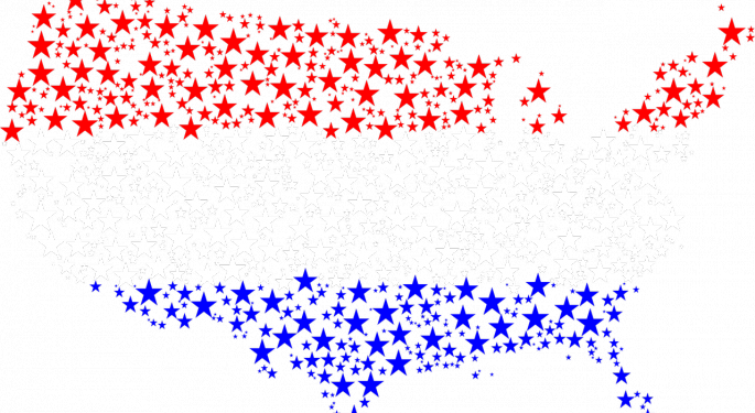 Red And Blue States: Polarization Since The '70s Explained In 1 Chart