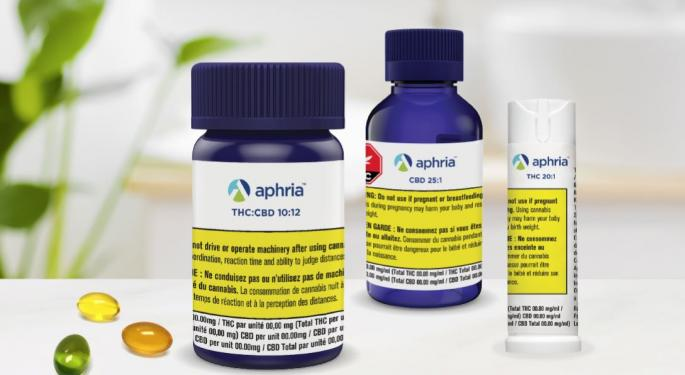 Aphria's Q2 Cannabis Sales Exceed Cantor Fitzgerald's Expectations