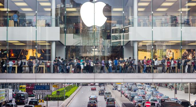Apple Selling Off Hard On Negative iPhone Data Report