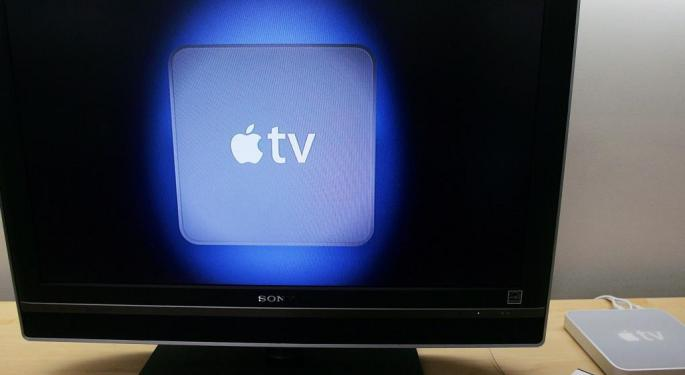 Munster: Apple TV Not About Revenue, But 'Progressing' Into The Living Room