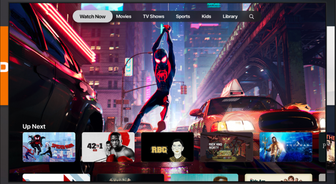 Apple Rolls Out Streaming Service Apple TV+, TV Channels