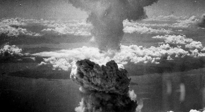 This Day In Market History: Atomic Bomb Shuts Down Japan Stock Exchange