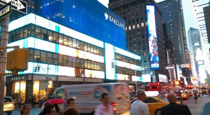 Barclays Notches Sell-Side Upgrade On Capital Progress, Dwindling Regulatory Risks