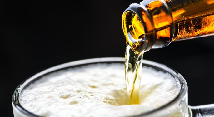 BofA Bearish On Anheuser Busch, Says Volume Growth 'Remains Patchy'