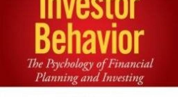 'Investor Behavior' Author Victor Ricciardi Dissects The Psychology of Traders