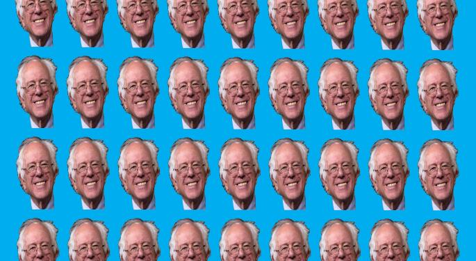 Feel The Bern Burn? Analyst Says Sanders Presidency Would Add $21 Trillion To National Deficit