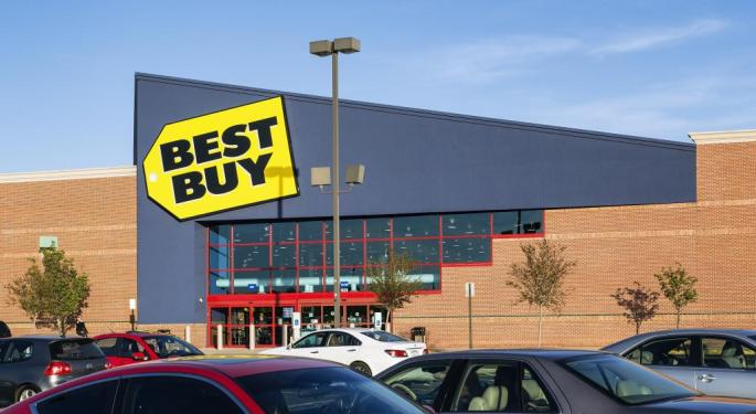 Why Best Buy Could Move Lower