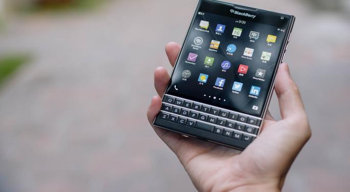 BlackBerry Rallies On Qualcomm Settlement Before Tuesday Tank