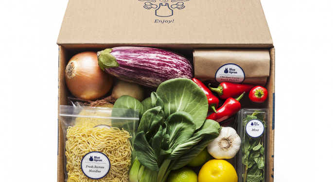 KeyBanc: Blue Apron Could Be A 'Compelling Acquisition Target'