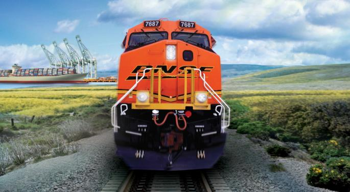 BNSF's Second Quarter Operating Revenue Comes In Weakest Of The Class 1 Railroads