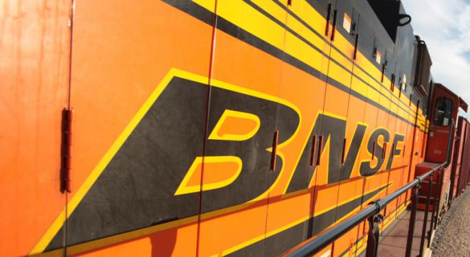 BNSF Boosts Revenues, Lowers OR