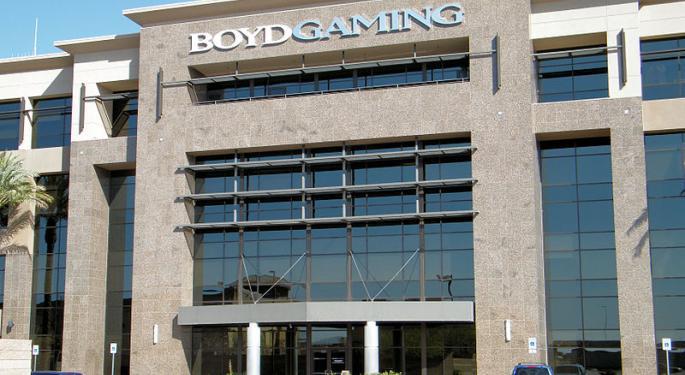 Deutsche Bank's 2017 Regional Gaming Outlook: Boyd Is Top Pick