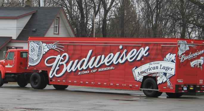 Anheuser-Busch Charges Into California Electric Truck Demonstration Race