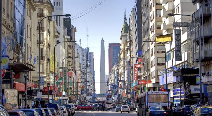 Argentina ETF Decked By Interest Rate Spike