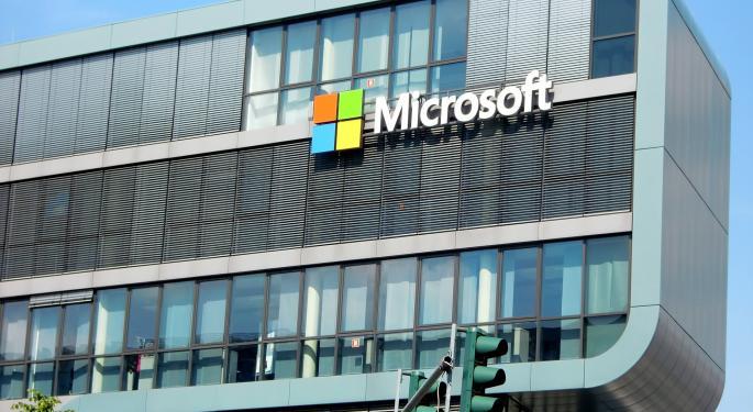 Microsoft Option Trader Bets $1M On 10% More Upside