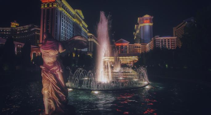 Credit Suisse: Caesars Entertainment Has Ideal Position In Vegas, Regional Gaming