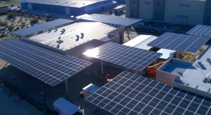 Canndescent Wraps First Commercial-Scale Cannabis Solar Project