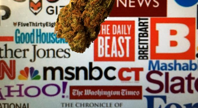 Cannabis Ads Finally Hitting BuzzFeed, Thrillist And USA Today