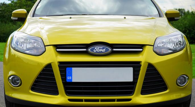 Barclays Turns Bullish On Ford, Removes Underweight Rating From Fiat Chrysler