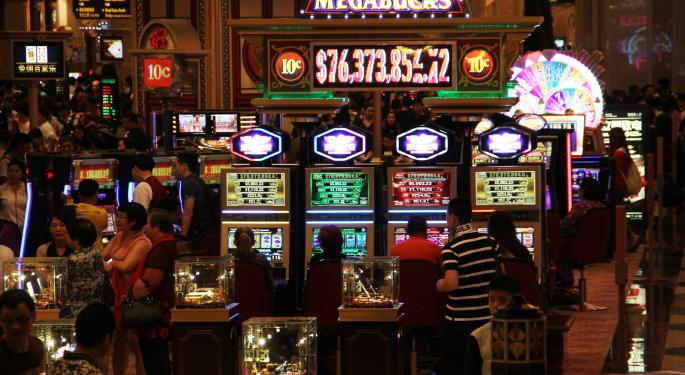 Macau Records Highest Monthly Gaming Revenue In Nearly 2 Years