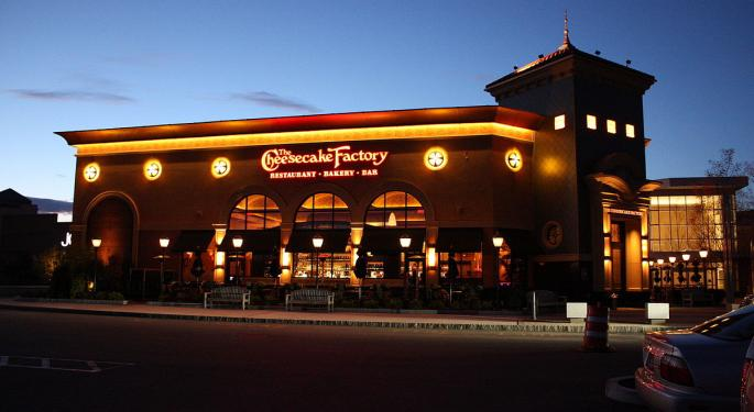 Cheesecake Factory's Q4 Print, 2019 Guidance Fails To Turn 2 Analysts Bullish