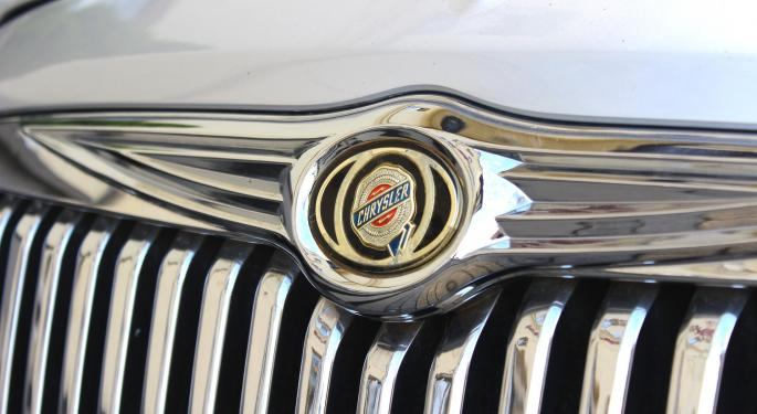 Barclays Downgrades Fiat Chrysler On Unexpected North American Weakness