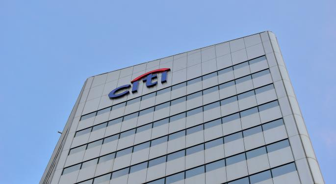 UBS Wants You To Sell Citi Shares; Here's Why