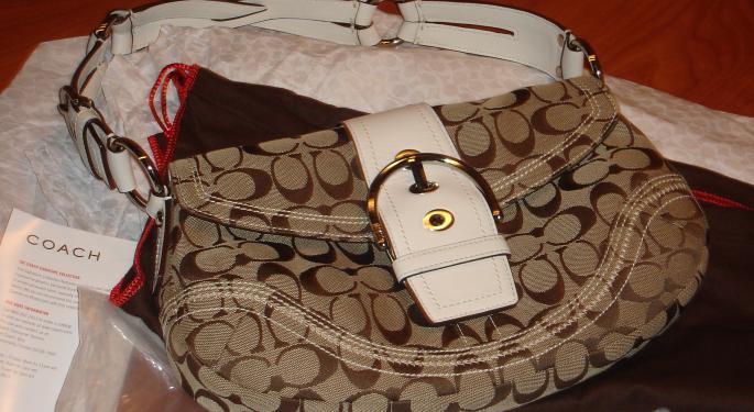 Coach's Good Quarter Bucked The Tough Trends In Handbag Category