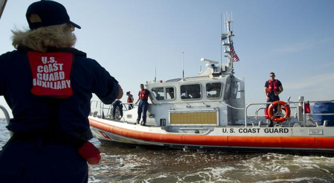 Coast Guard Contacts Four Crew Members In Capsized Car Carrier