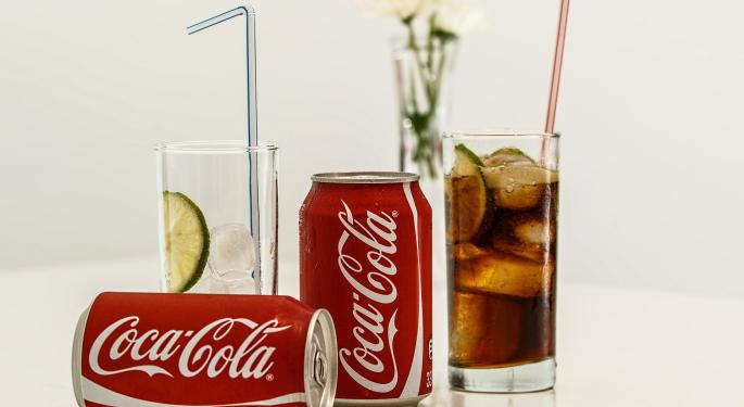 Coca-Cola Trades Higher On Q3 Sales Beat
