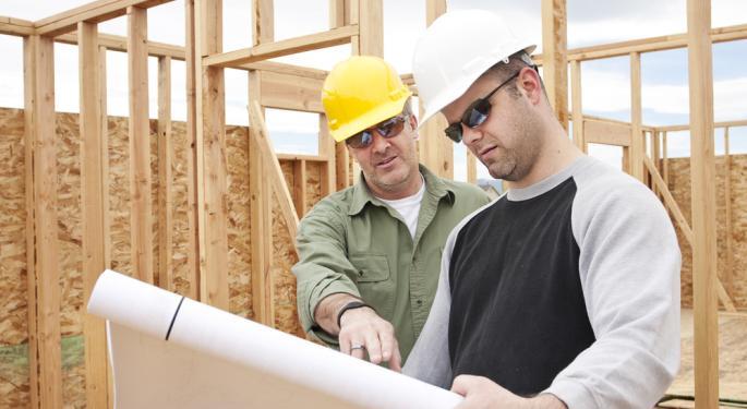 Short Interest Swings in Home Builder Stocks KBH, NVR, TMHC