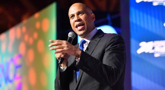 Cory Booker Slams Joe Biden's Marijuana Reform Plan Ahead Of Detroit Dem Debate