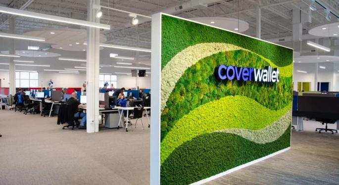 Benzinga Global Fintech Award Winner CoverWallet Acquired By Aon