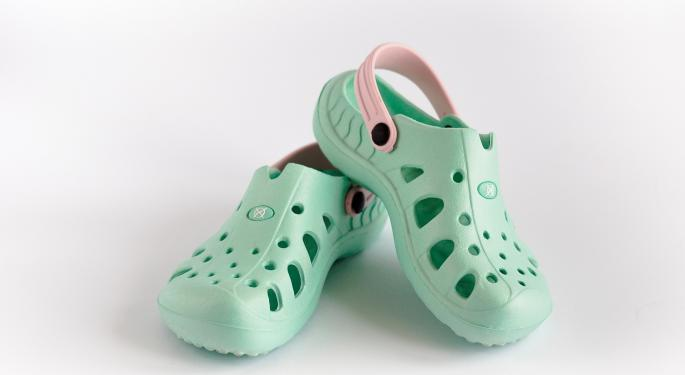 Crocs Downgraded By Stifel On Balanced Risk-Reward; Footwear Maker Reports Strong European, Direct-To-Consumer Growth