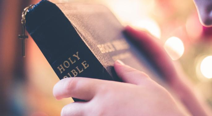 Holy Rollers: Another ETF Of Biblical Inspiration
