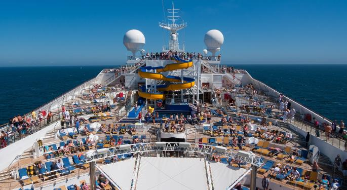 Royal Caribbean Sailing Higher After Upgrade