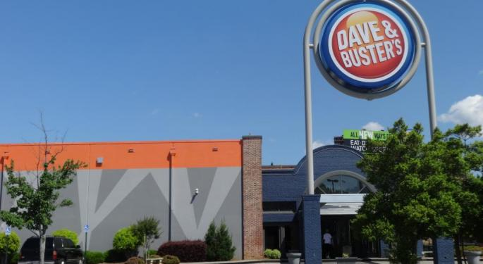 Dave & Buster's Crushed After Q1 Sales Miss, Guidance Cut