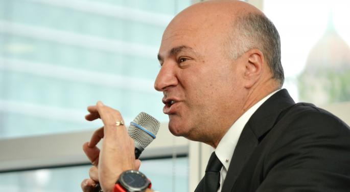 Kevin O'Leary Likes His Tesla Model X, But Hates The Stock