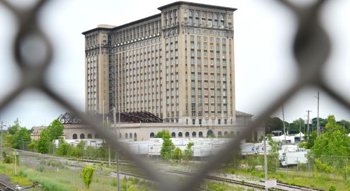 From 'Ellis Island' To Graffiti Canvas: The Story Of Ford's Newly Acquired Michigan Central Station