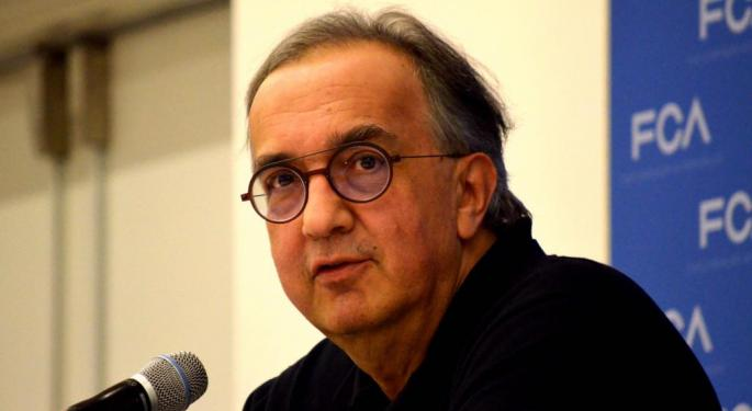 Manley Takes The Wheel At Fiat Chrysler Sooner Than Expected As Marchionne Exits On Failing Health