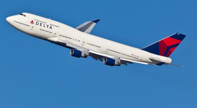 Short Interest Rises in Delta, Falls in U.S. Airways DAL, LCC