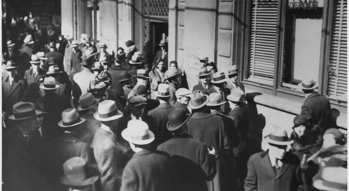 This Day In Market History: Dow Gains 9.5% On Great Depression Optimism