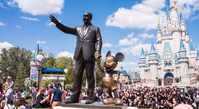 BMO Upgrades Disney, Says Stock Has Downside Protection And Upside Potential